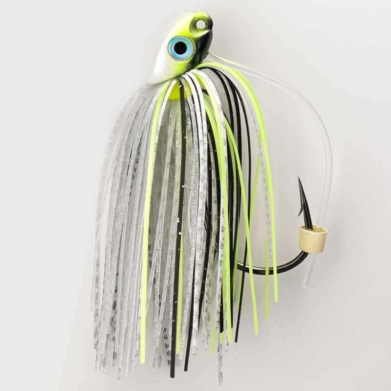 Chartreuse Shad 3/8 oz. Swim Jig