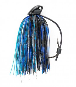 Black/Blue 1/2 oz Flippin Jig