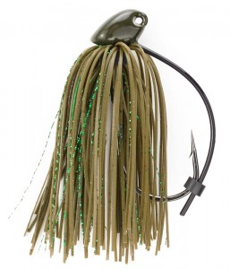 Green Pumpkin 3/8 oz Flippin Jig