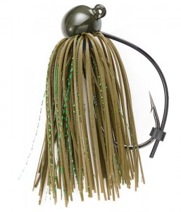 Green Pumpkin 1 oz Football Jig