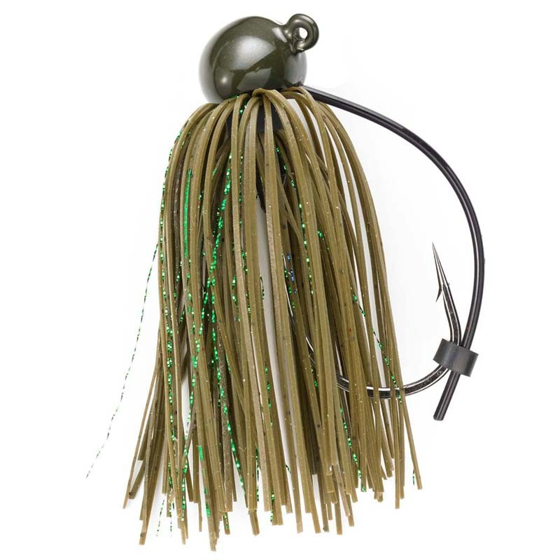 Green Pumpkin 3/4 oz Football Jig