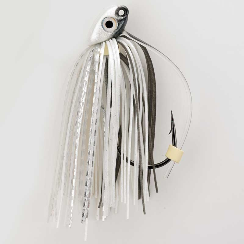 Pearl Ghost Shiner 3/8 oz. Swim Jig