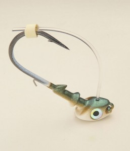 3/4 oz. Swimbait Head – Green Shad
